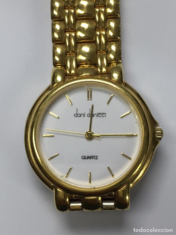 Relojes: Reloj DANI DANICCI chapado de oro - Foto 4 - 191777051