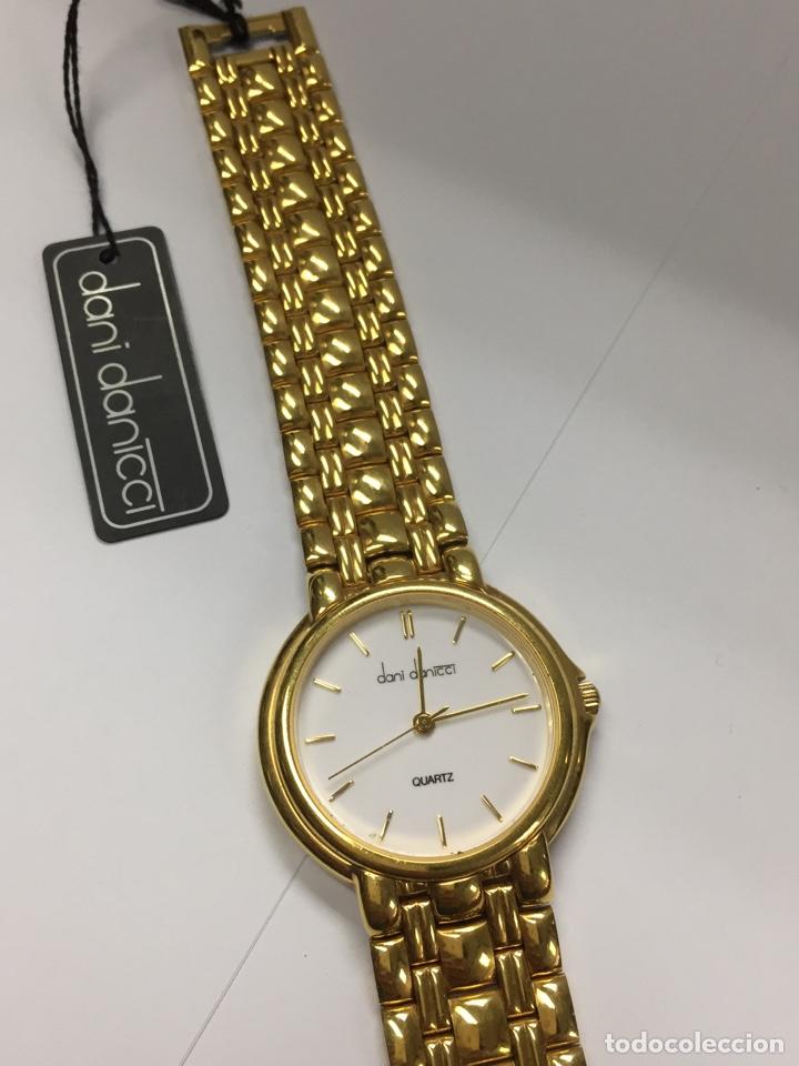 Relojes: Reloj DANI DANICCI chapado de oro - Foto 5 - 191777051