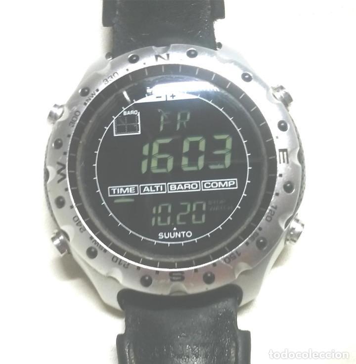 RELOJ SUUNTO X-LANDER FINLANDIA, ALTÍMETRO, BARÓMETRO Y BRÚJULA, FUNCIONA. MED. 5 CM (Relojes - Relojes Actuales - Otros)