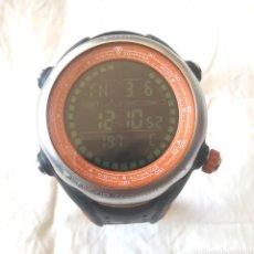 Relojes: RELOJ DIGITAL CRIVIT 1 LD2900 DE ACERO CON BRUJULA, ALTÍMETRO, FUNCIONA. Lote 191913586