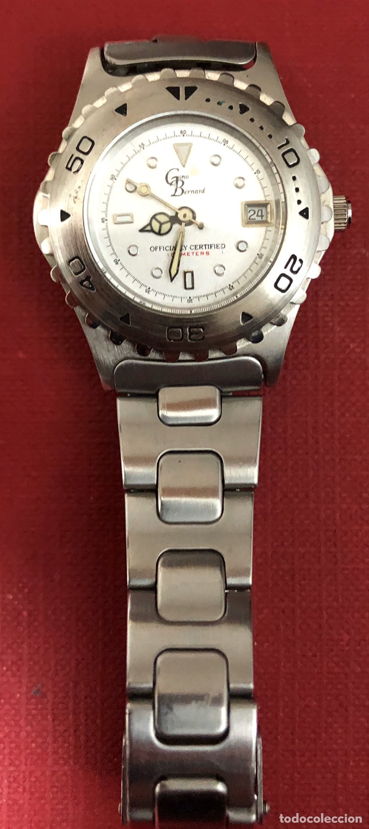 Relojes: Bonito reloj de señora, de cuarzo Gino Bernard. - Foto 4 - 191927088