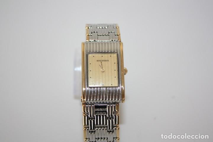 Relojes: RELOJ BOUCHERON REFLET - ORO Y ACERO - CIERRE INVISIBLE. - Foto 3 - 192442270