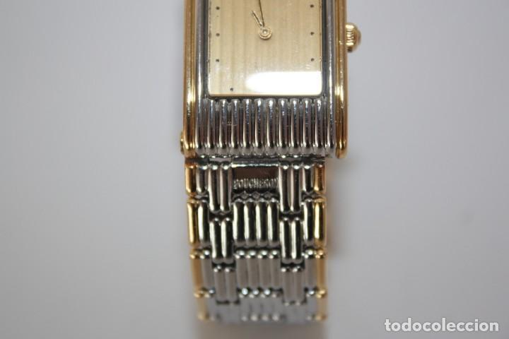 Relojes: RELOJ BOUCHERON REFLET - ORO Y ACERO - CIERRE INVISIBLE. - Foto 4 - 192442270