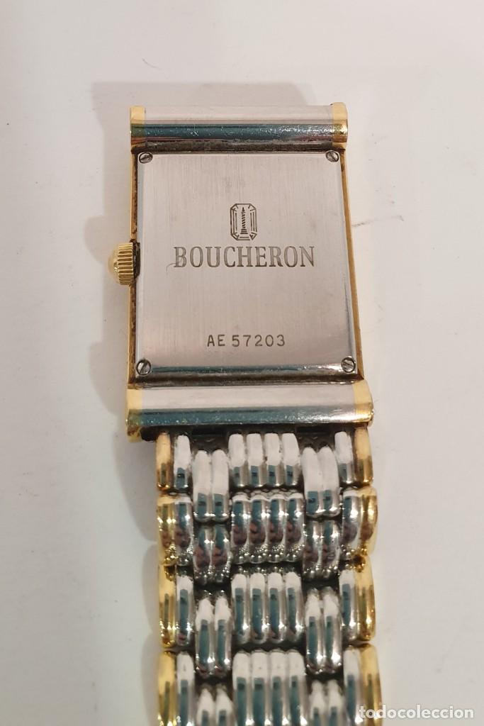 Relojes: RELOJ BOUCHERON REFLET - ORO Y ACERO - CIERRE INVISIBLE. - Foto 6 - 192442270