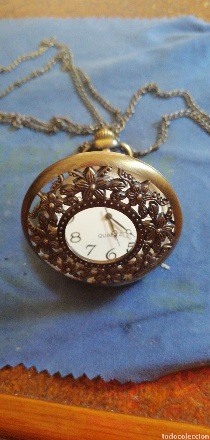 Relojes: RELOJ DE BOLSILLO CON CADENA QUARTZ - Foto 2 - 192557022
