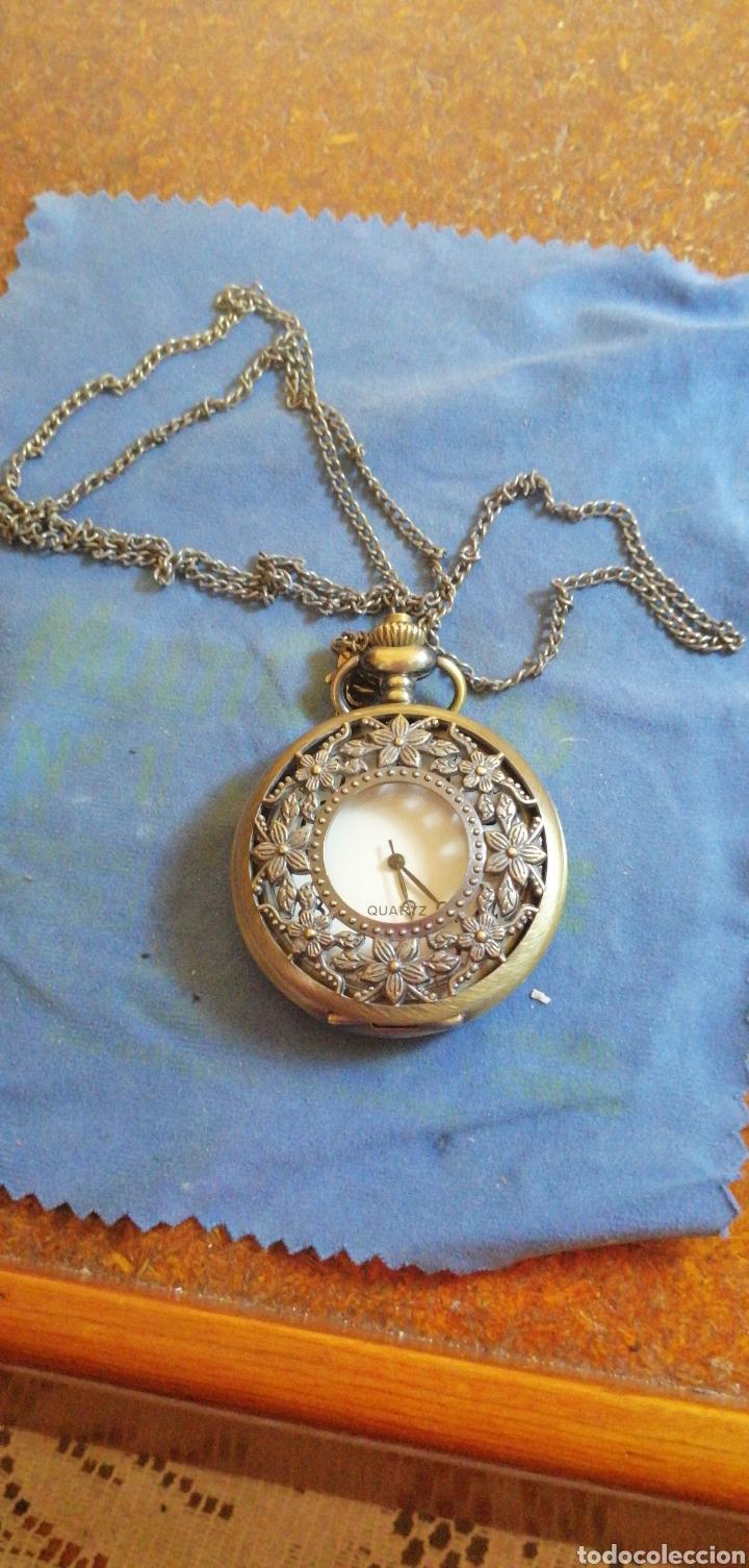 Relojes: RELOJ DE BOLSILLO CON CADENA QUARTZ - Foto 3 - 192557022