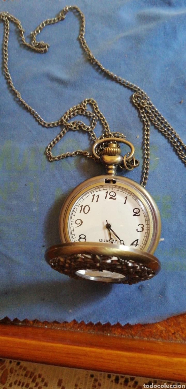 Relojes: RELOJ DE BOLSILLO CON CADENA QUARTZ - Foto 5 - 192557022
