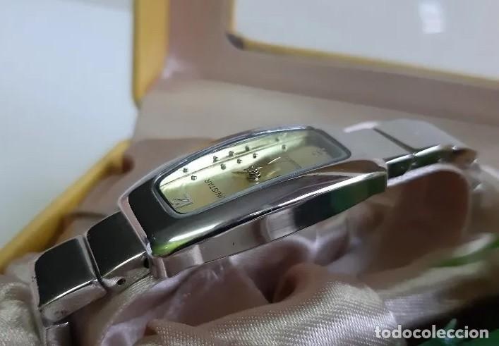 Relojes: Reloj de lujo Unistar para damas, en estuche de regalo, caja rectangular. A ESTRENAR - Foto 3 - 192590755