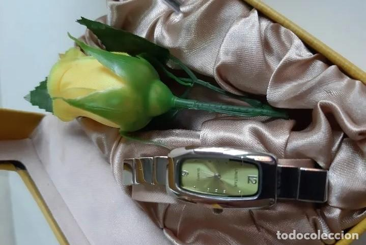 Relojes: Reloj de lujo Unistar para damas, en estuche de regalo, caja rectangular. A ESTRENAR - Foto 5 - 192590755