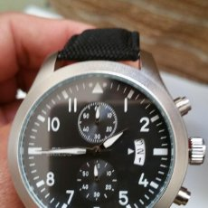 Relógios: RELOJ PILOT CRONOGRAFO DE CUARZO, CAJA 46MM. - HOMENAJE IWC -. Lote 181771850