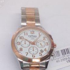 Relojes: RELOJ POTENS CHRONOGRAPH NUEVO SIN USO. Lote 213325095