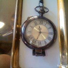 Relojes: RELOJ BOLSILLO PAVONADO CON APOYADOR. Lote 193643461