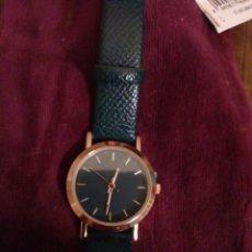 Relojes: RELOJ VERDE MUJER NUEVO. Lote 193663296