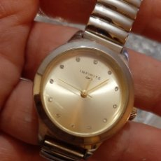 Relojes: RELOJ PULSERA INFINITE MUJER PILA NUEVA FUNCIONA BIEN.. Lote 193728317