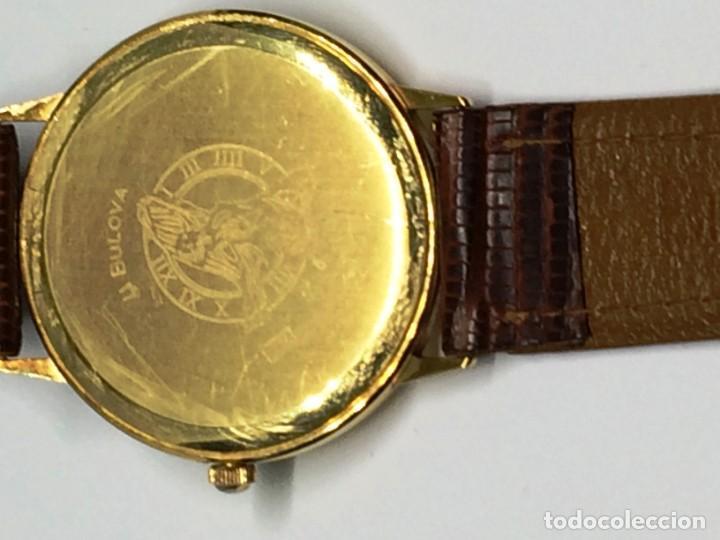 Relojes: Oro 750 Reloj de oro de 18 kt, cuarzo bulova dorado, fecha perfecta como caja - Foto 4 - 193973730