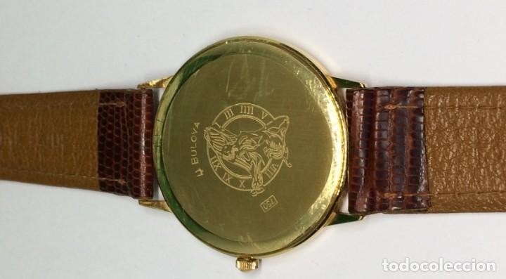 Relojes: Oro 750 Reloj de oro de 18 kt, cuarzo bulova dorado, fecha perfecta como caja - Foto 7 - 193973730