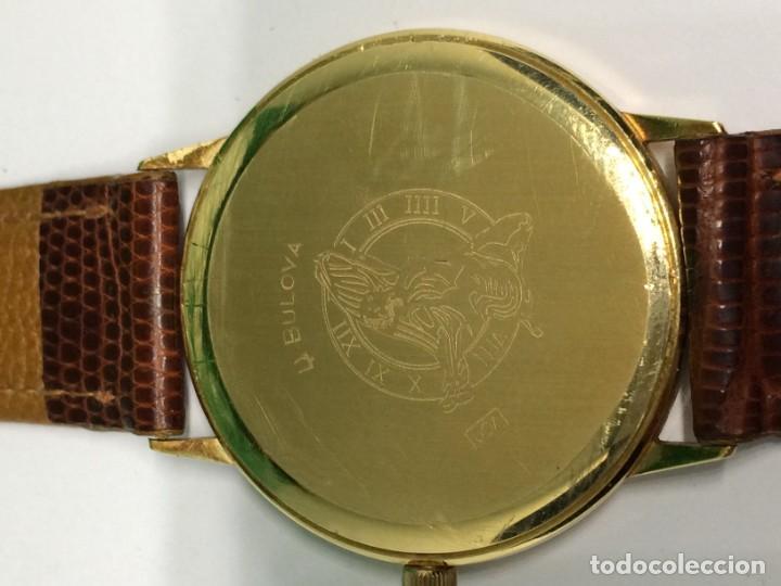 Relojes: Oro 750 Reloj de oro de 18 kt, cuarzo bulova dorado, fecha perfecta como caja - Foto 9 - 193973730