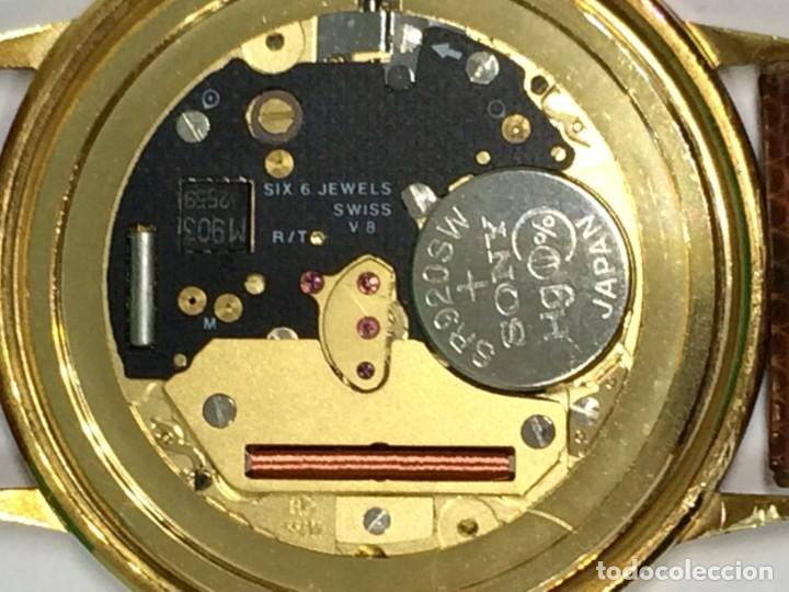 Relojes: Oro 750 Reloj de oro de 18 kt, cuarzo bulova dorado, fecha perfecta como caja - Foto 11 - 193973730