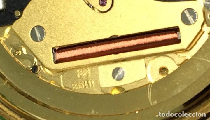 Relojes: Oro 750 Reloj de oro de 18 kt, cuarzo bulova dorado, fecha perfecta como caja - Foto 12 - 193973730