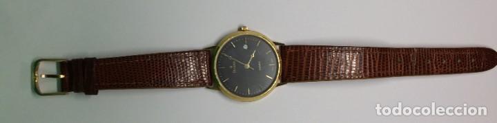 Relojes: Oro 750 Reloj de oro de 18 kt, cuarzo bulova dorado, fecha perfecta como caja - Foto 15 - 193973730