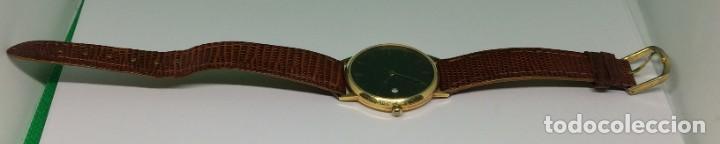 Relojes: Oro 750 Reloj de oro de 18 kt, cuarzo bulova dorado, fecha perfecta como caja - Foto 16 - 193973730