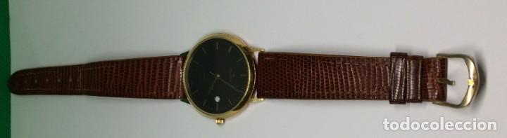 Relojes: Oro 750 Reloj de oro de 18 kt, cuarzo bulova dorado, fecha perfecta como caja - Foto 17 - 193973730