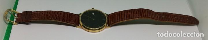Relojes: Oro 750 Reloj de oro de 18 kt, cuarzo bulova dorado, fecha perfecta como caja - Foto 18 - 193973730