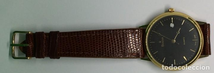 Relojes: Oro 750 Reloj de oro de 18 kt, cuarzo bulova dorado, fecha perfecta como caja - Foto 19 - 193973730