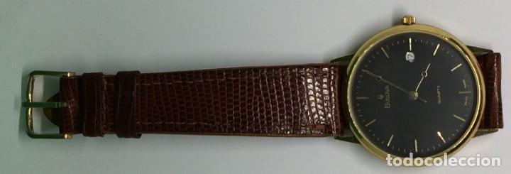 Relojes: Oro 750 Reloj de oro de 18 kt, cuarzo bulova dorado, fecha perfecta como caja - Foto 20 - 193973730