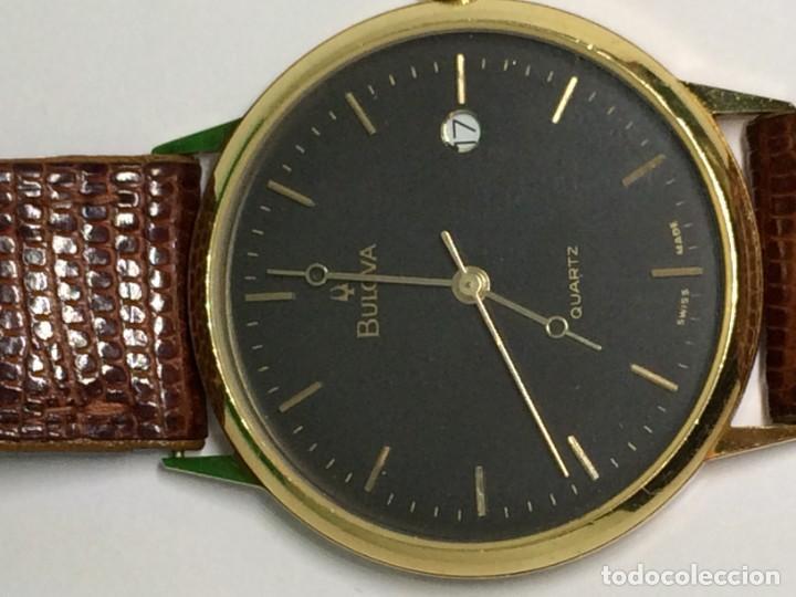 Relojes: Oro 750 Reloj de oro de 18 kt, cuarzo bulova dorado, fecha perfecta como caja - Foto 22 - 193973730