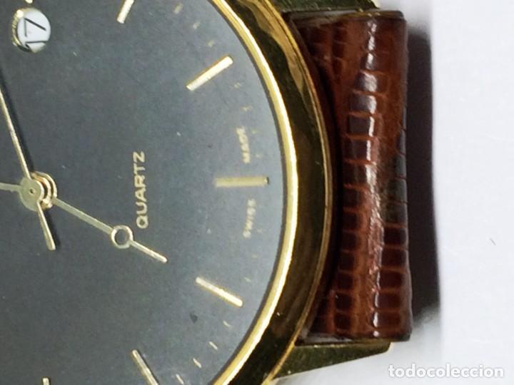 Relojes: Oro 750 Reloj de oro de 18 kt, cuarzo bulova dorado, fecha perfecta como caja - Foto 23 - 193973730