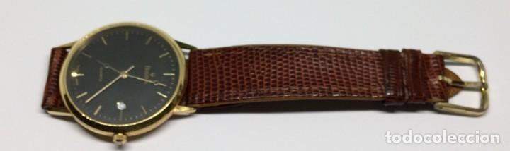 Relojes: Oro 750 Reloj de oro de 18 kt, cuarzo bulova dorado, fecha perfecta como caja - Foto 24 - 193973730