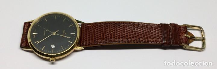 Relojes: Oro 750 Reloj de oro de 18 kt, cuarzo bulova dorado, fecha perfecta como caja - Foto 25 - 193973730
