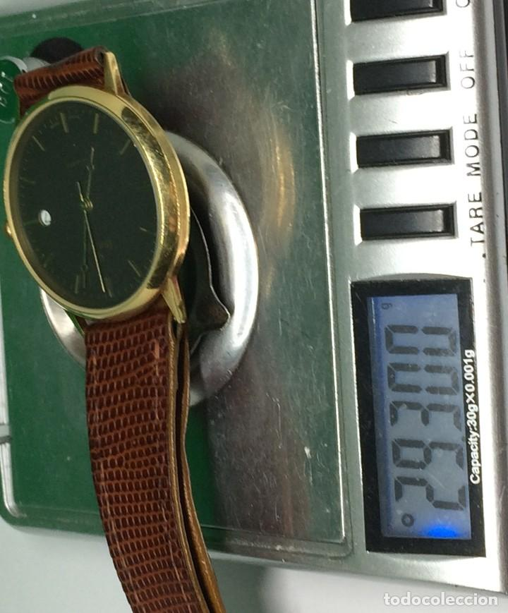 Relojes: Oro 750 Reloj de oro de 18 kt, cuarzo bulova dorado, fecha perfecta como caja - Foto 26 - 193973730