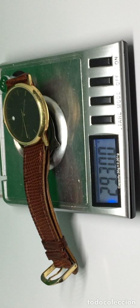 Relojes: Oro 750 Reloj de oro de 18 kt, cuarzo bulova dorado, fecha perfecta como caja - Foto 27 - 193973730