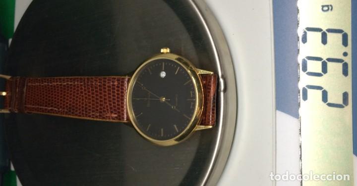 Relojes: Oro 750 Reloj de oro de 18 kt, cuarzo bulova dorado, fecha perfecta como caja - Foto 29 - 193973730