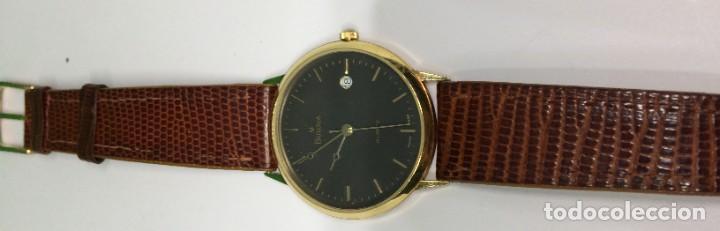 Relojes: Oro 750 Reloj de oro de 18 kt, cuarzo bulova dorado, fecha perfecta como caja - Foto 30 - 193973730