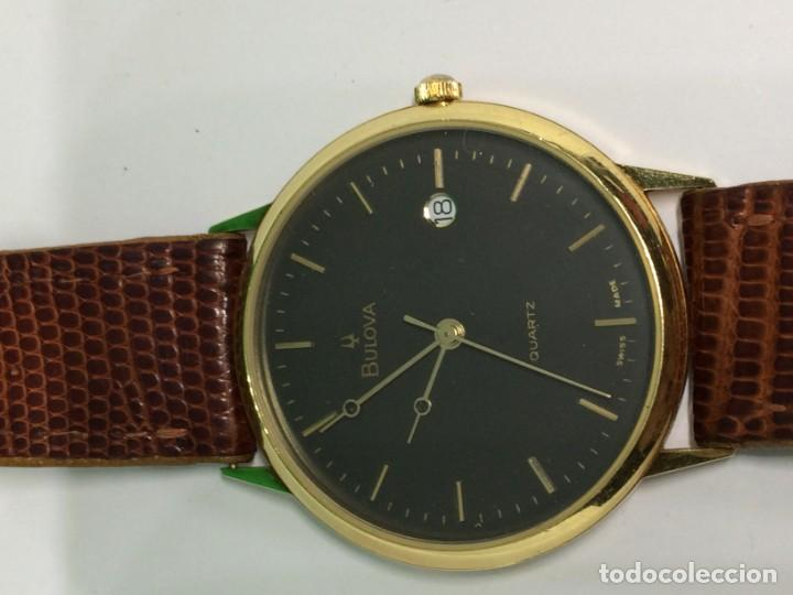 Relojes: Oro 750 Reloj de oro de 18 kt, cuarzo bulova dorado, fecha perfecta como caja - Foto 31 - 193973730