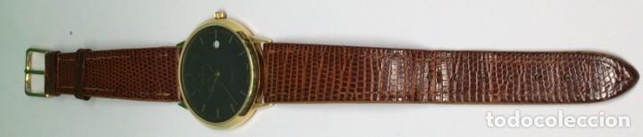 Relojes: Oro 750 Reloj de oro de 18 kt, cuarzo bulova dorado, fecha perfecta como caja - Foto 32 - 193973730