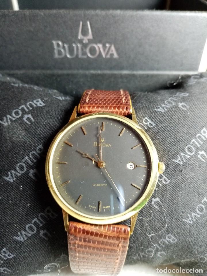 Relojes: Oro 750 Reloj de oro de 18 kt, cuarzo bulova dorado, fecha perfecta como caja - Foto 35 - 193973730