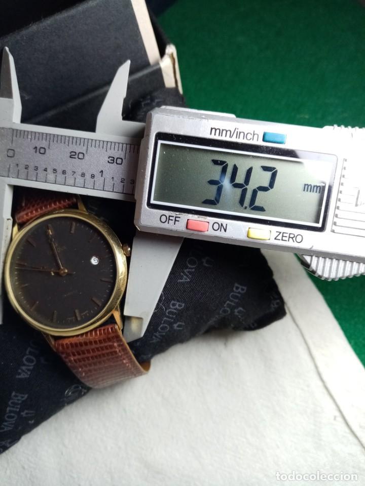 Relojes: Oro 750 Reloj de oro de 18 kt, cuarzo bulova dorado, fecha perfecta como caja - Foto 36 - 193973730