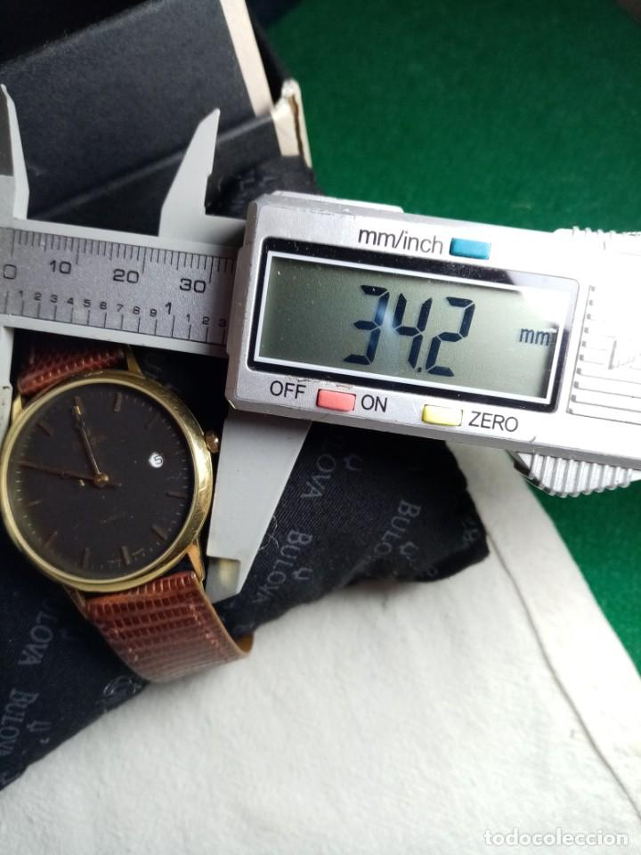 Relojes: Oro 750 Reloj de oro de 18 kt, cuarzo bulova dorado, fecha perfecta como caja - Foto 37 - 193973730