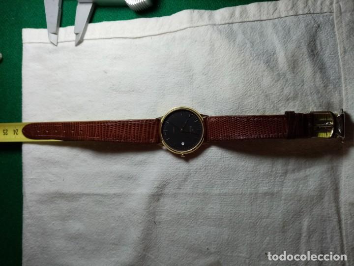Relojes: Oro 750 Reloj de oro de 18 kt, cuarzo bulova dorado, fecha perfecta como caja - Foto 41 - 193973730