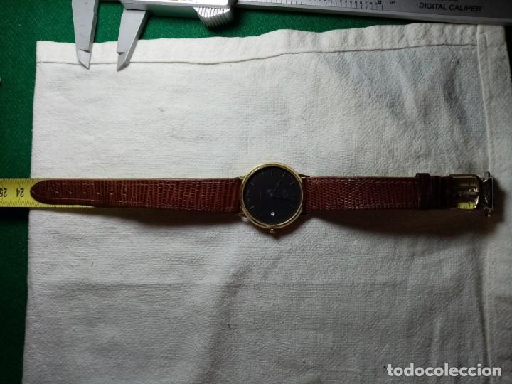 Relojes: Oro 750 Reloj de oro de 18 kt, cuarzo bulova dorado, fecha perfecta como caja - Foto 42 - 193973730