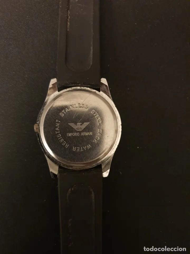 Relojes: ANTIGUO RELOJ UNISEX DE EMPORIO ARMANI, FUNCIONANDO CORRECTAMENTE. - Foto 2 - 194105885