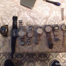 Relojes: CONJUNTO RELOJES RASTRO. Lote 194130278