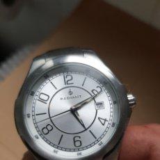Relojes: RELOJ RADIANT 42MM CON CORONA CORREA EN CUERO FALTA PILA. Lote 194197885