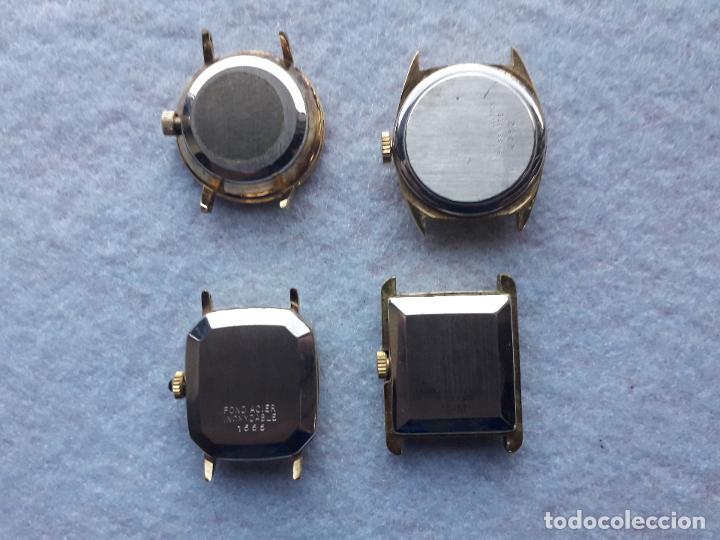 Relojes: Lote de 4 relojes marca Bassel Cuarz para dama. Swiss made - Foto 6 - 194322813