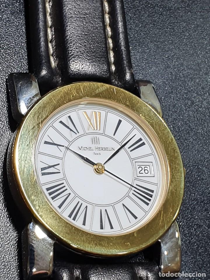 RELOJ NUEVO DE CUARZO MICHEL HERBELIN (Relojes - Relojes Actuales - Otros)