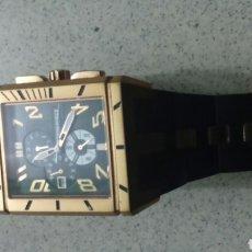 Relojes: RELOJ TIME FORCE CON DETALLES DORADOS PARA HOMBRE. Lote 194397785